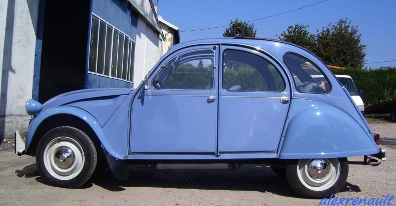 Ac 575 Bleu Celeste Le Blog De Alexrenault 2cv Citroen 2cv Bleu Celeste