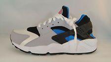 5de99161dbd41 New Nike Air Huarache 318429-140 Size 8.5 White Blue Grey Black ...