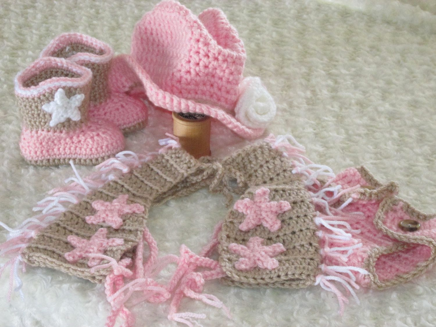 Cowgirl Hat Boots Chaps and Diaper Cover Set by HannahsHomestead2 ...