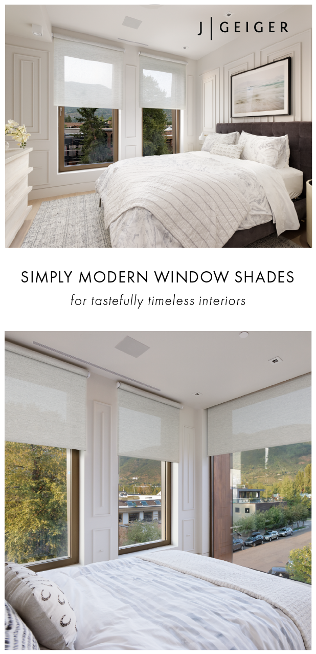 Simply Modern Window Shades For Tastefully Timeless Interiors Modern Window Shades Window Shades Window Coverings