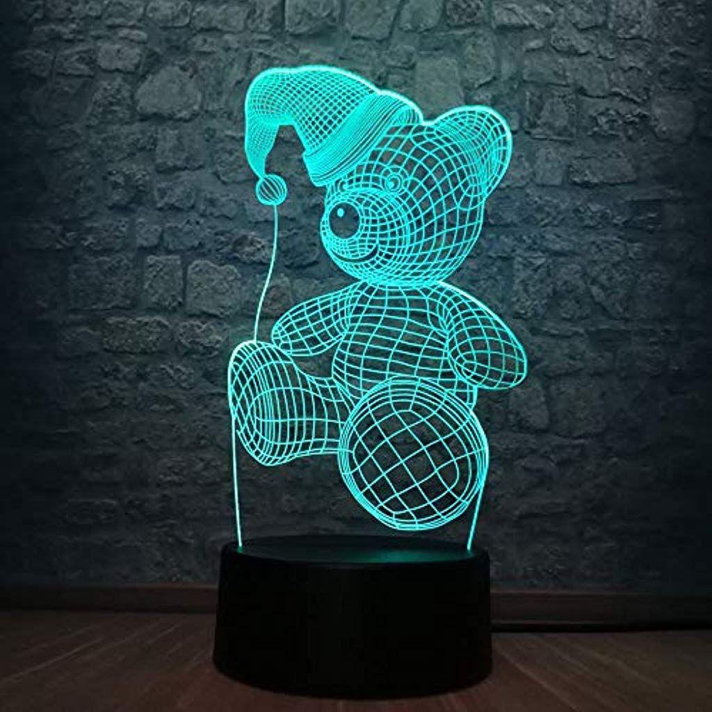 Illusion Lampe Romantische Kleine Bar 3d Lampe Rgb Beleuchtung Bunte Note Nachtlicht Atmosphare Kind Spielzeug Valentine Gesc Nachtlicht Kinder Spielzeug Dekor