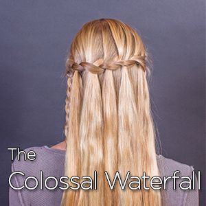 Instructions for how to make The Colossal Waterfall!