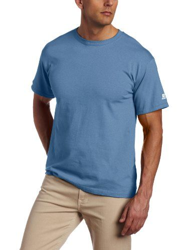 fcafc38e818 Russell Athletic Men's Basic T-Shirt, Columbia « Impulse Clothes ...
