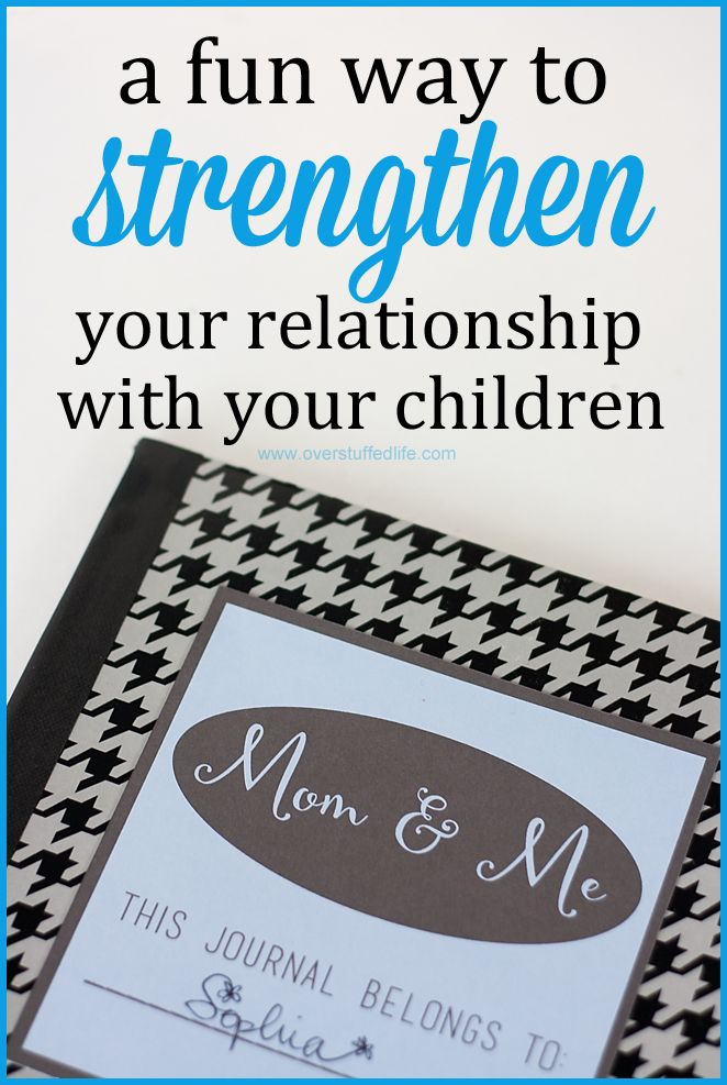 Build a Better Relationship With Your Kids by Being Pen-Pals! {free printable} | Overstuffed