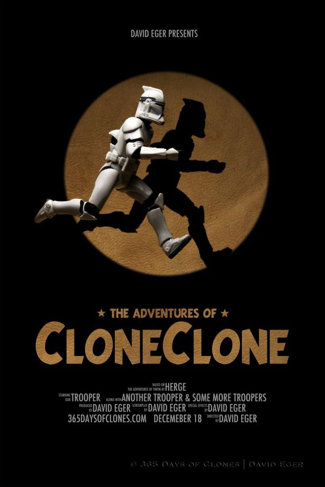TinTin - Trooper - Star Wars - mashups!