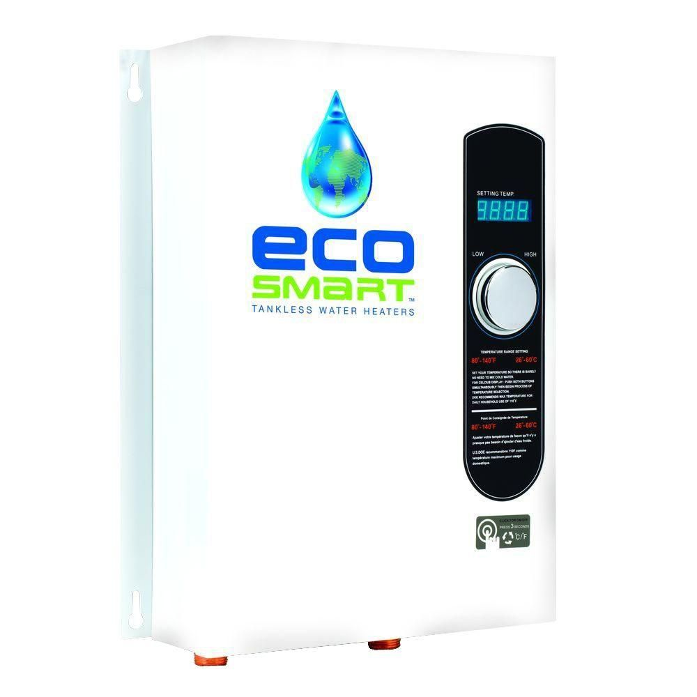 Ecosmart 18 Kw Self Modulating 35 Gpm Electric Tankless Water Instant Heater Wiring Diagram