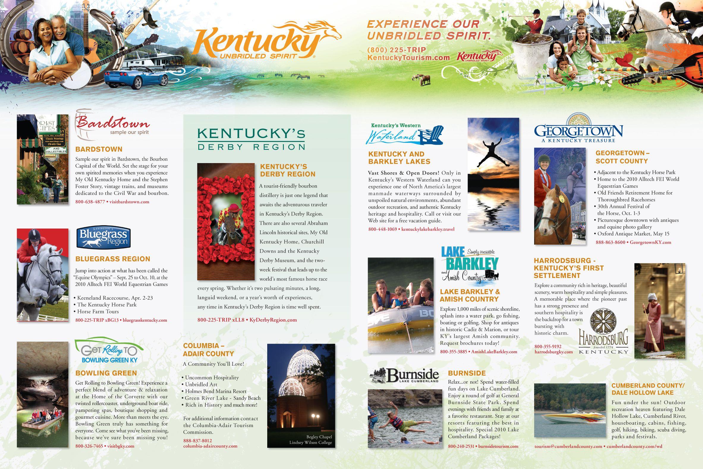 Kentucky Tourism Spread! #KY