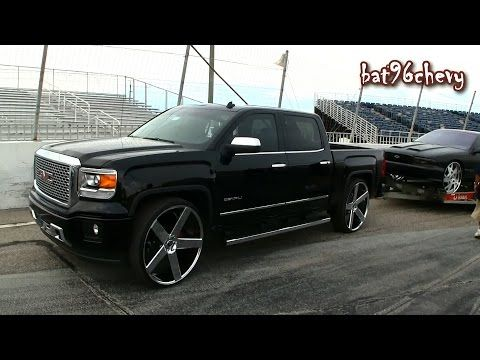 Dropped Gmc Sierra Crewcab With A Hd Denali Front End Conversion