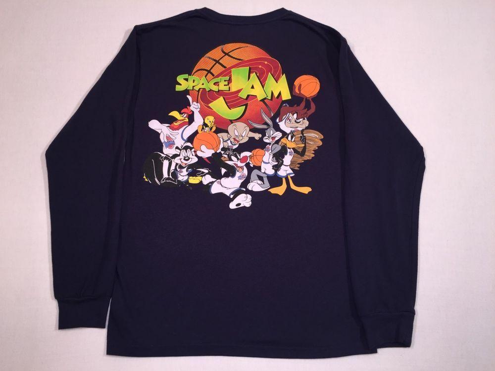 Space T Shirts Ideas Spaceshirts Spacetshirts Space Jams Looney Tunes Long Sleeve T Shirt Men S Tag Size Medium 38 40 Space Shirts Mens Shirts Mens Tshirts