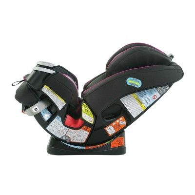 Graco 4ever Dlx 4 In 1 Convertible Car Seat Black Pink Products