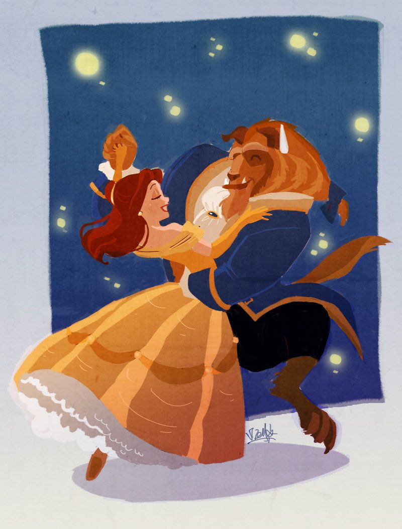 Beauty & The Beast Fan Art