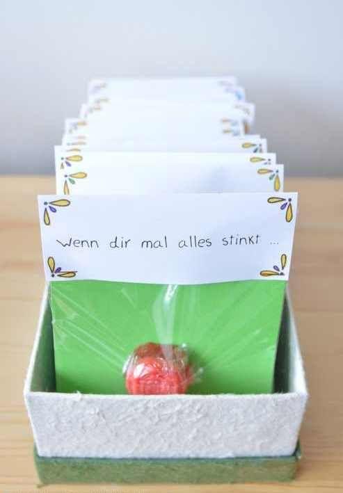 DIY Geschenk: Wenn-Box selbermachen