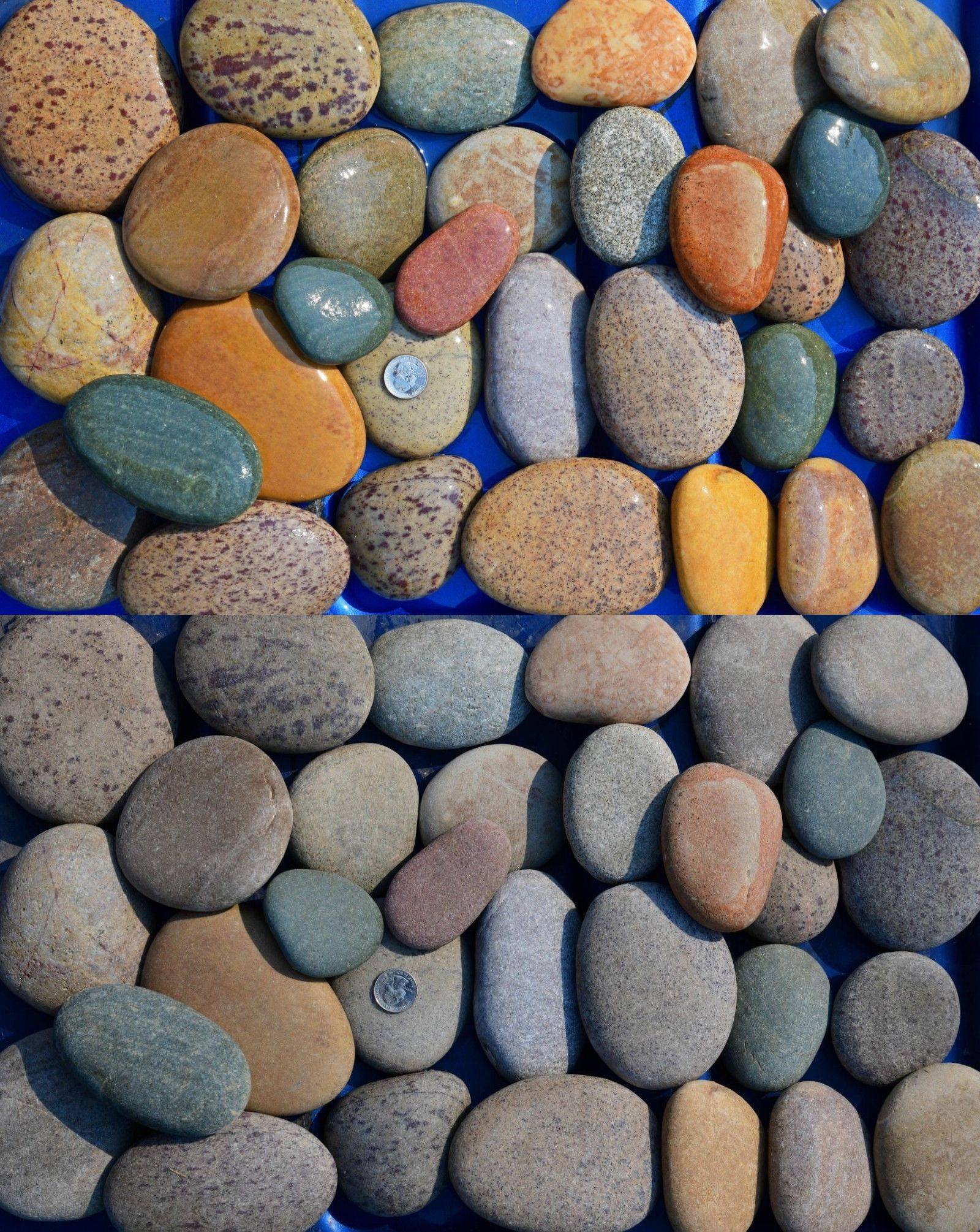 30 Lbs Lot 1 Rock Painting River Rocks Unpainted Smooth Medium Size Art Mandala River Rock Landscaping Landscaping With Rocks Painted River Rocks