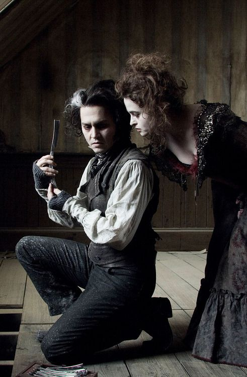 Tarkovsky, Johnny Depp & Helena Bonham Carter in Sweeney Todd