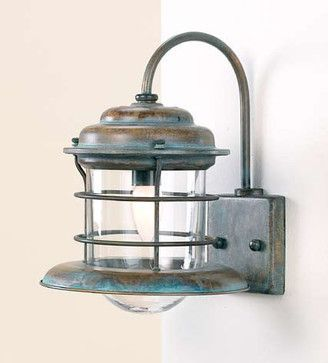 Fredeco Nautical Sconce Tropical Wall Sconces Lighting
