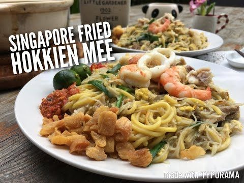 Chinese recipe singapore fried hokkien noodles todays recipe is all about cooking singapores signature hokkien fried noodles we singaporeans called it fried hokkien mee hokkien is actually fujian forumfinder Choice Image
