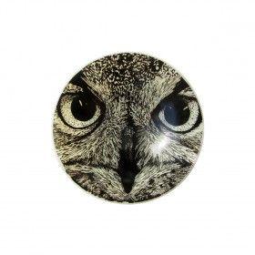Tawny Owl Bowl Pinned by www.myowlbarn.com