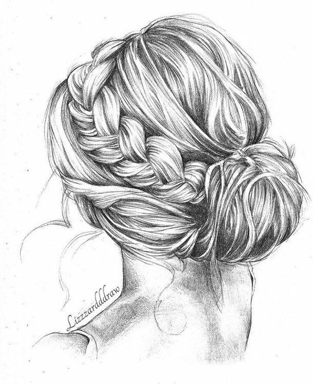 bun :) | frisuren zeichnen, haare zeichnen und zeichnungen