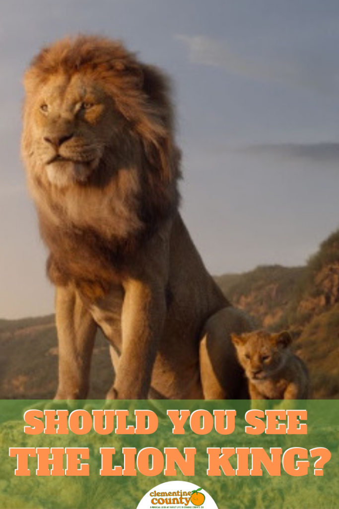 Should You See The Lion King? Scary kids, Timon, pumbaa