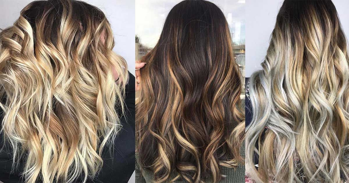 Different Types Of Hair Color Styles: 43 Balayage High Lights To Copy Today