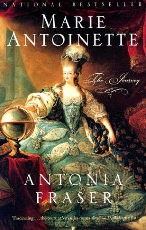 Marie Antoinette.  This book is a great read... Often labelled the scapegoat for the monarchy's excesses, she actually spent far less on her wardrobe than the average woman of the court.  Her marriage was not consummated for seven years, making her the subject of cruel whispers from friends and family alike.