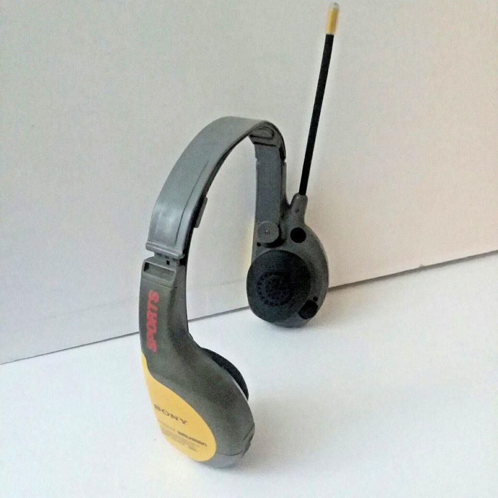 sony walkman sports srf hm55 am fm radio yellow headset tested rh pinterest com sony walkman srf-hm55 instructions sony walkman srf-hm55 instructions