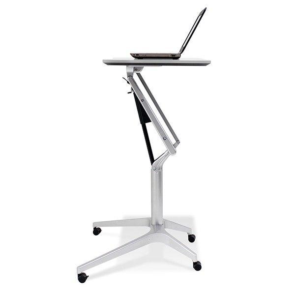 Adjustable Rolling Work Table Cool Stuff Adjustable