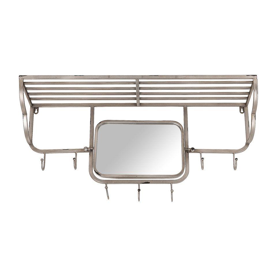 Kapstok met spiegel xenos interior home decor for Xenos spiegel