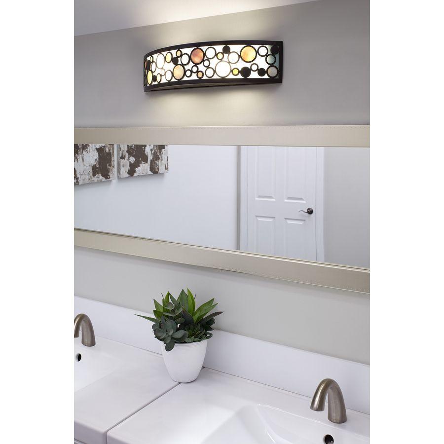Shop Quoizel 2 Light Fairgate Bronze Bathroom Vanity Light At