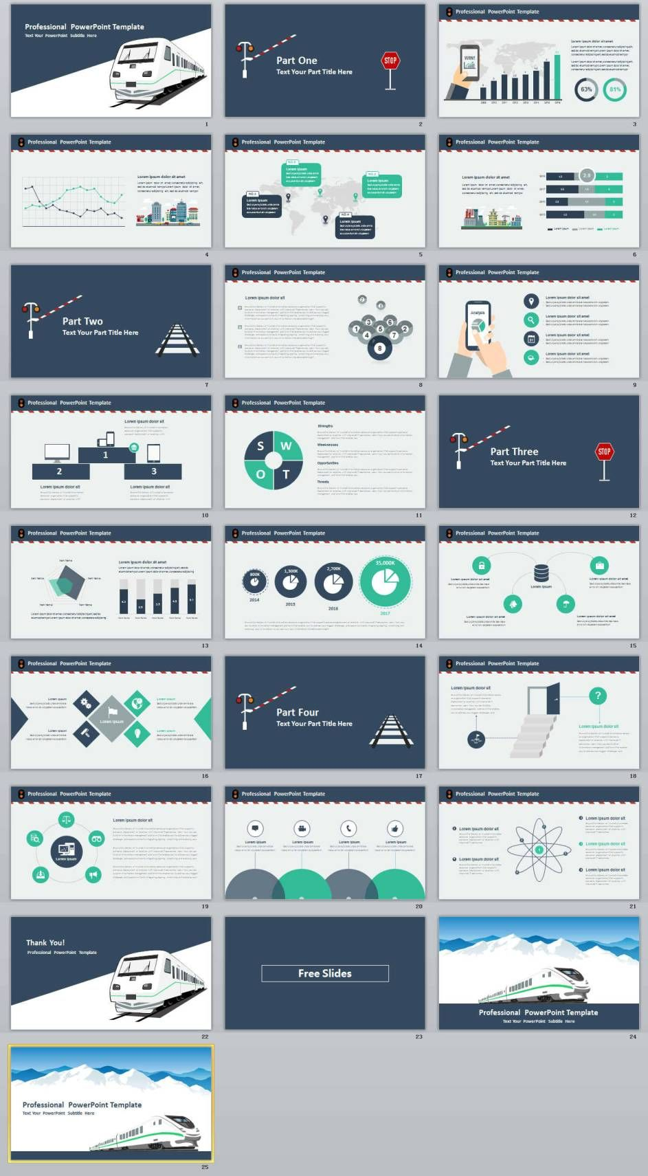 22 Business Professional Powerpoint Templates Presentaciones