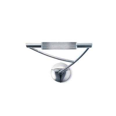 Zaneen Lighting Wing Mini 1 Light Wall Sconce Finish: Chrome, Shape: Right Extending