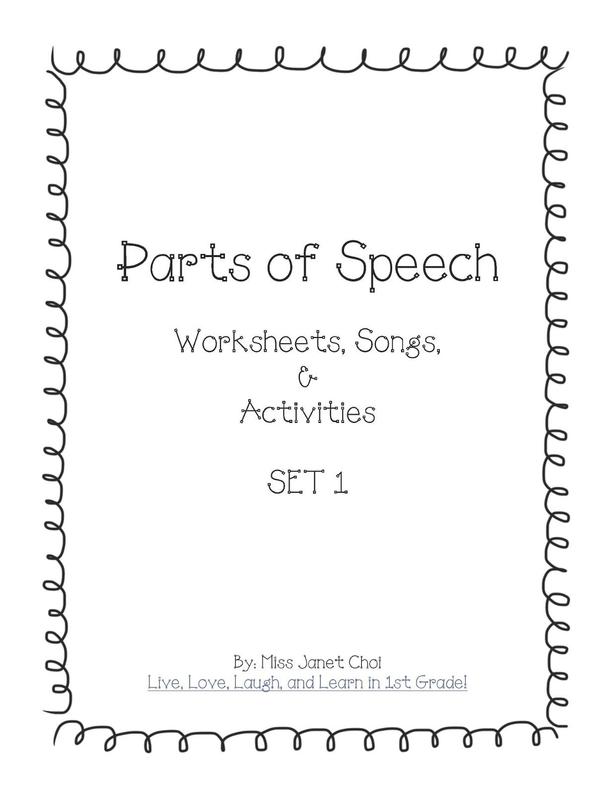 A3wp D Freebies For Math Reading And Parts Of Speech