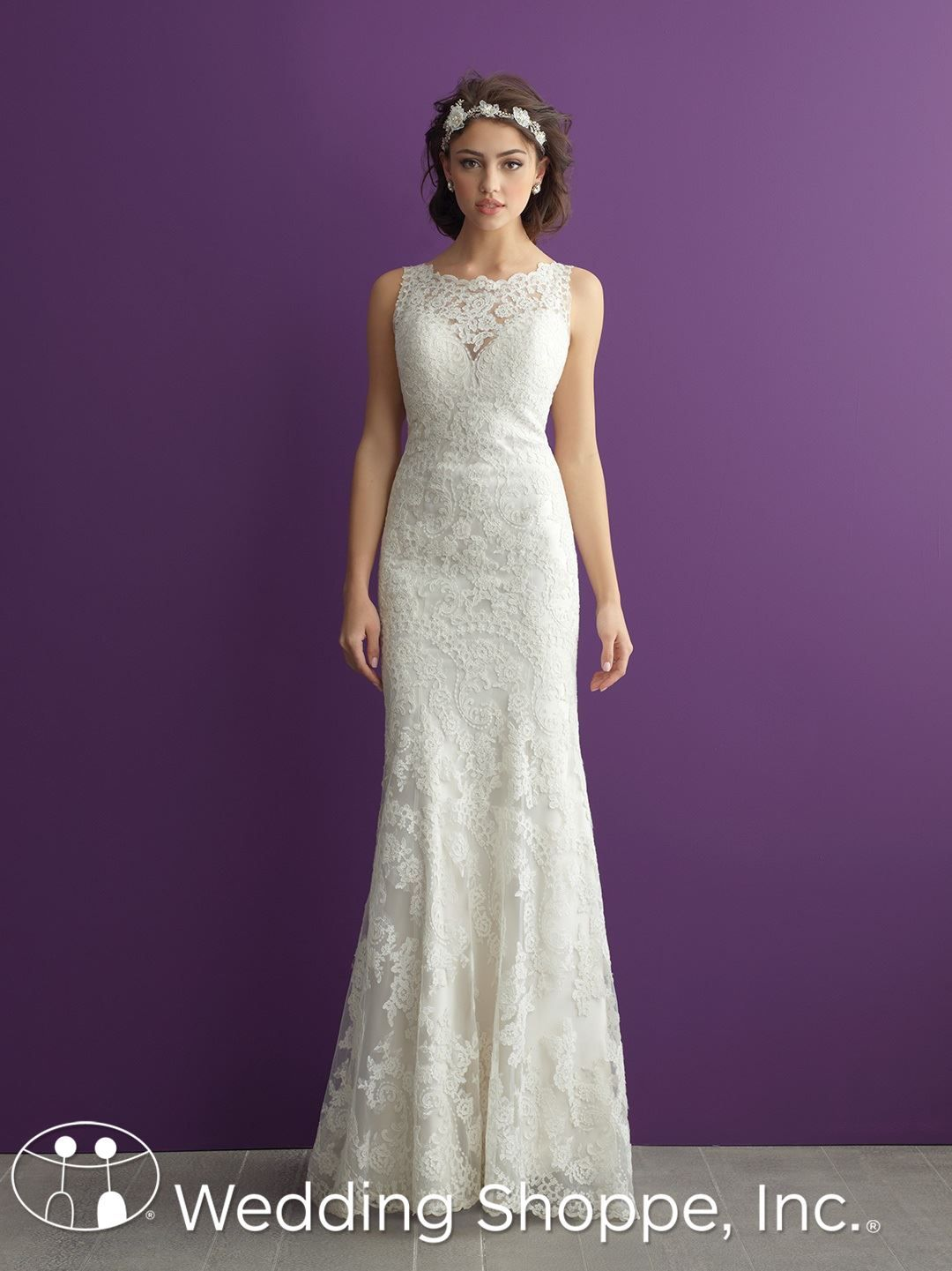 Allure Romance Bridal Gown 2960   happily ever after   Pinterest ...
