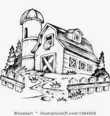 Slimpickingsfromachangedmind The Inside Of Your House Tractor Drawing Clipart Black And White Drawing Illustration