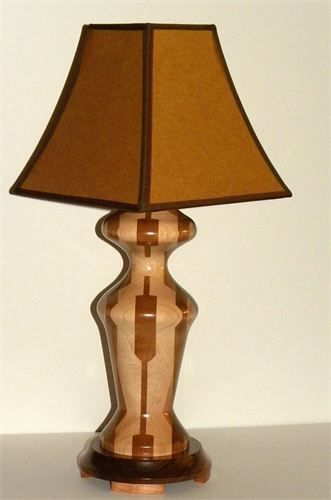 segmented woodturning - Google Search | Electrics | Wood ... Wood Lathe Lamp Projects