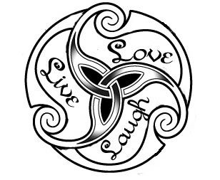 Live, Love Laugh Tattoo