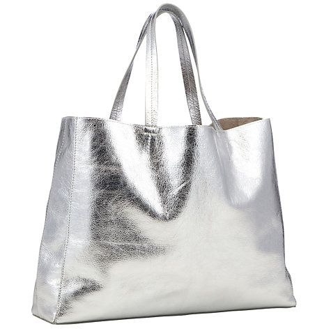 303536ba6cd Buy Collection WEEKEND by John Lewis Morgan Leather Tote Handbag Online at  johnlewis.com