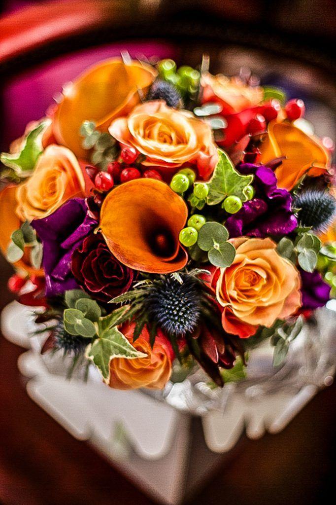 Autumn Wedding Flower Ideas