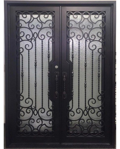 Iron Doors In Stock In 2020 Wrought Iron Doors Iron Doors Door