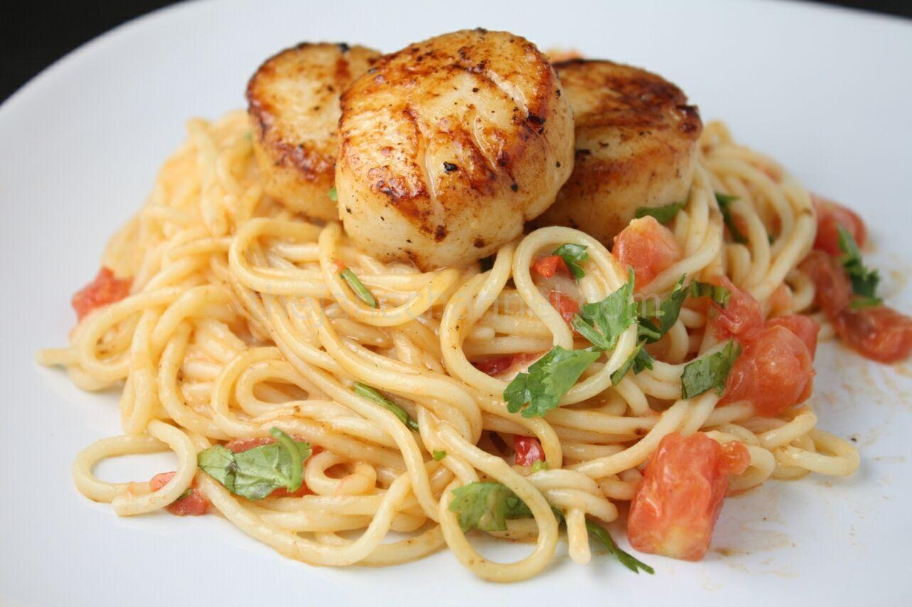 Scallop and pasta recipes cream sauce