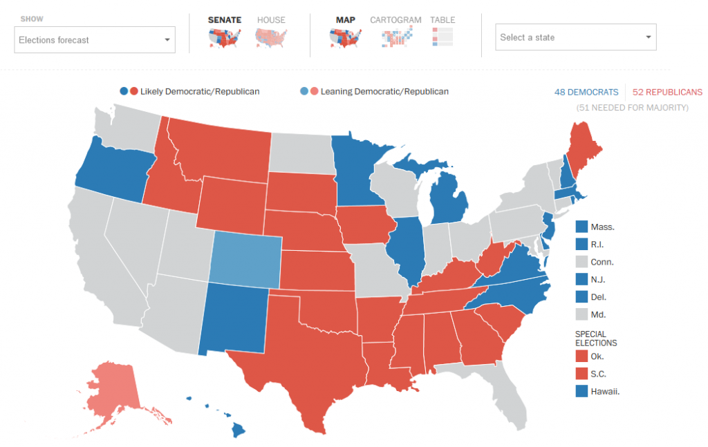 The Election Lab Midterm Forecast Explained Election Articles