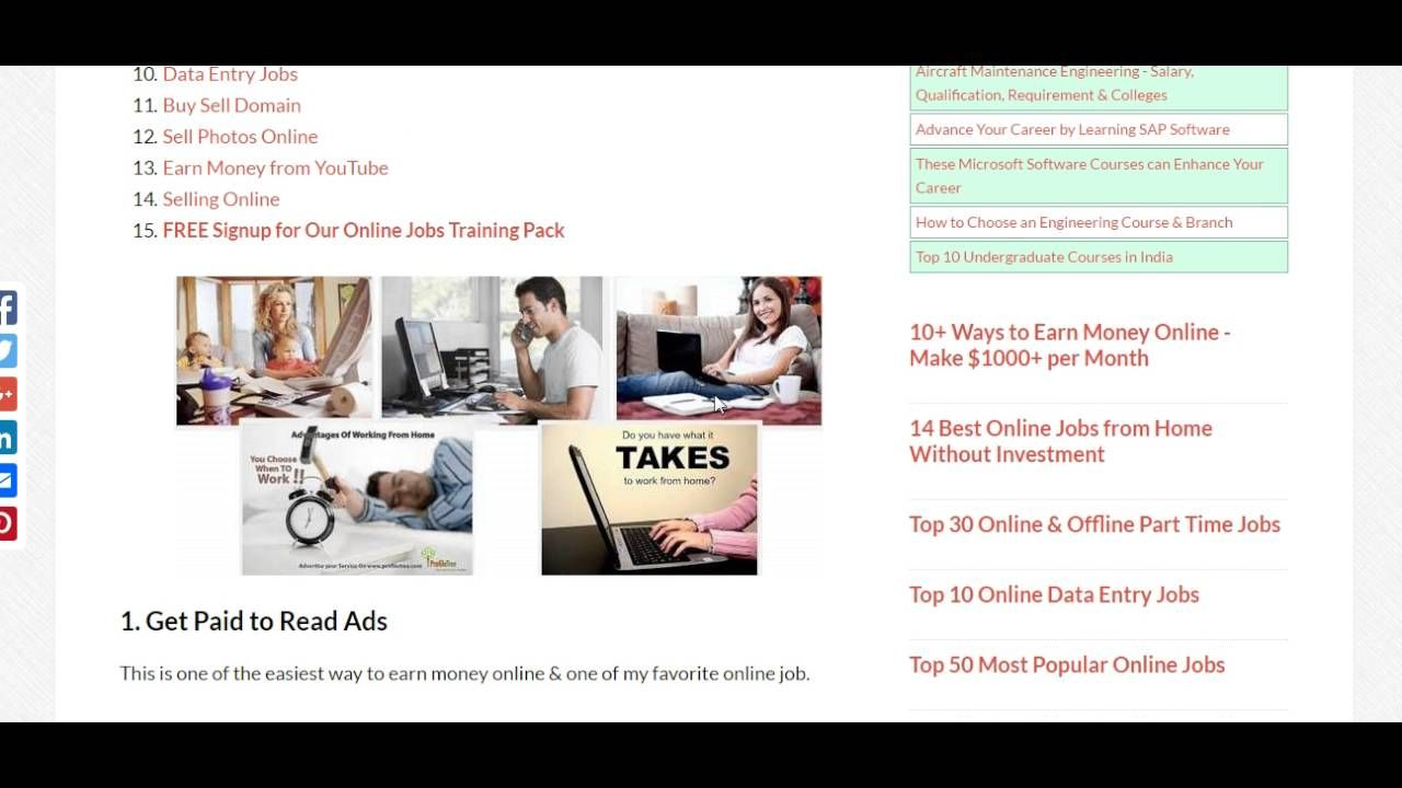 Colorful Online Home Based Job Without Investment Image - Home ...