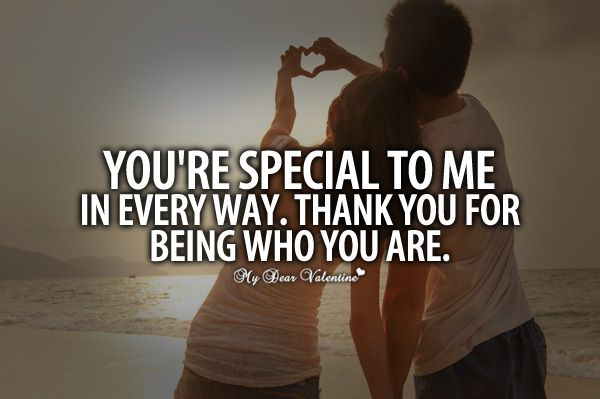You Are Special To Me Quotes