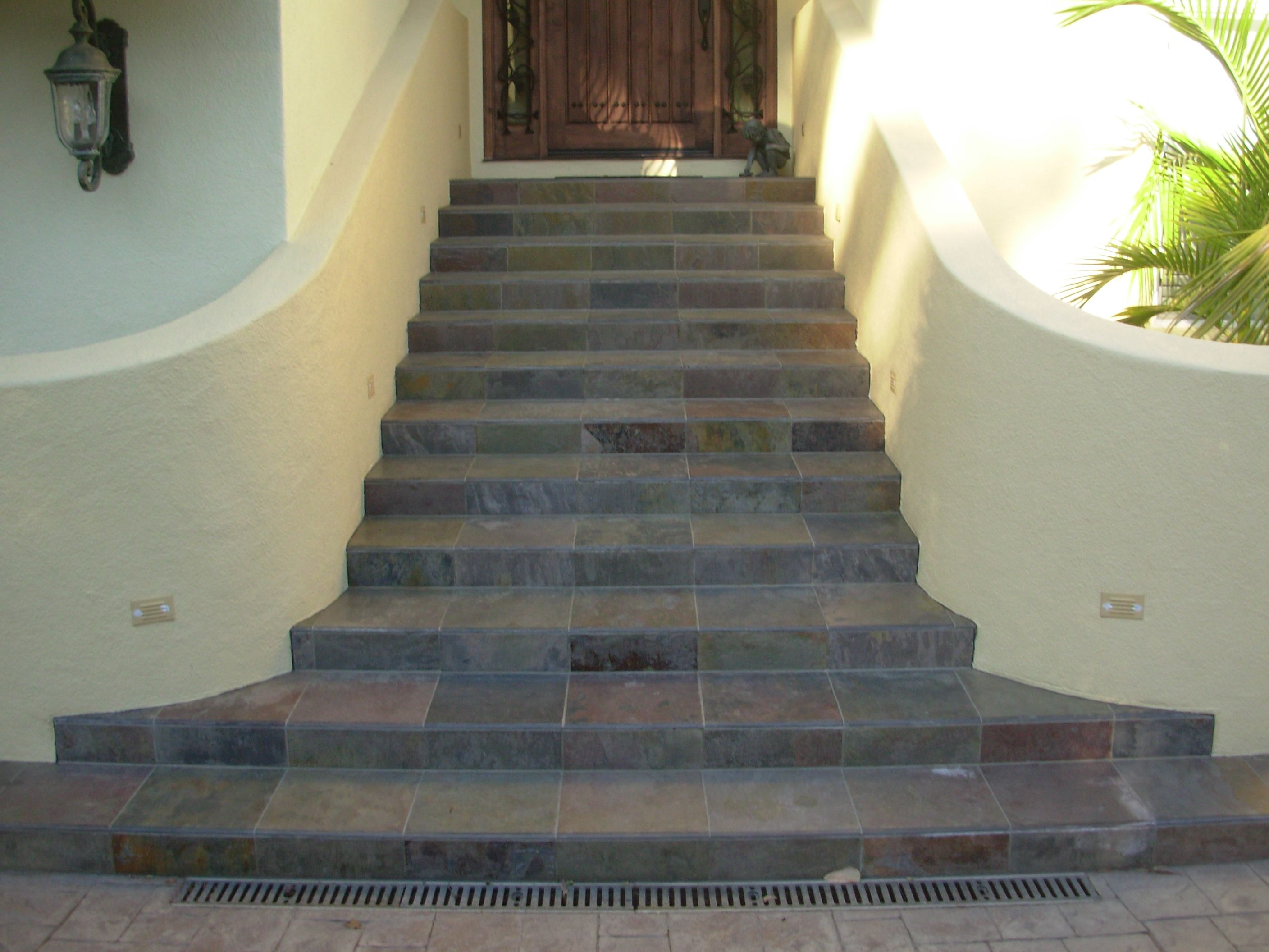 Best Exterior Slate Tile Stair Way By Marcus Marty Tile 400 x 300