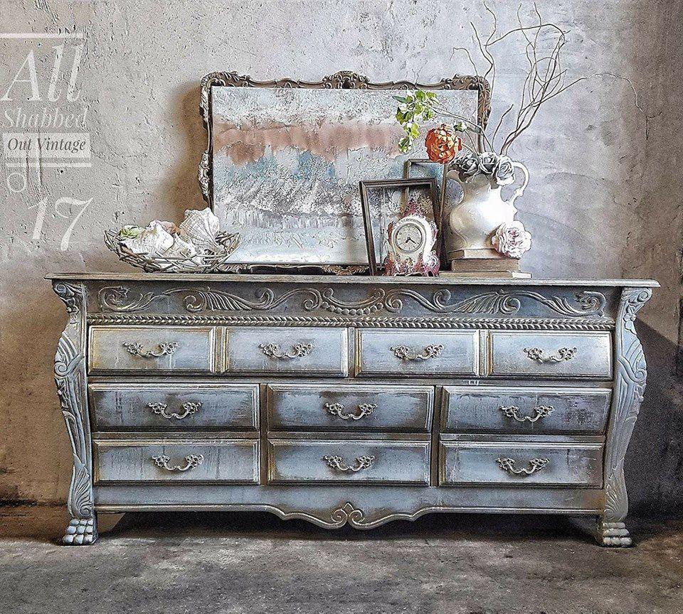 Ordinaire All Shabbed Out Vintage :l: CeCe Caldwellu0027s Paints :l: Smoky Mountain Gray