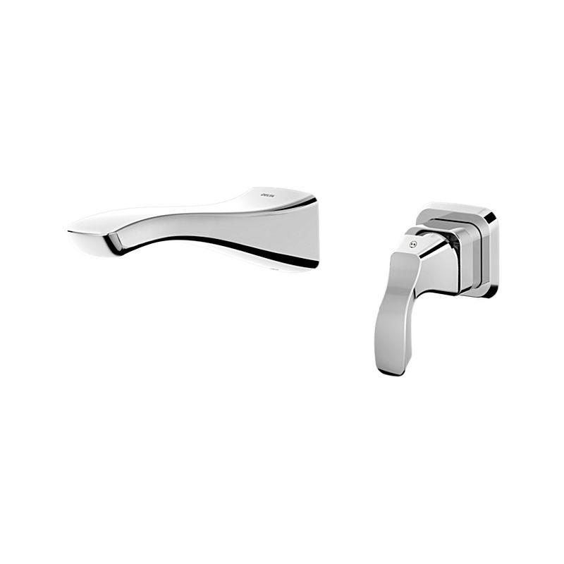 T552lf Wl Tesla Single Handle Wall Mount Lavatory Faucet Bath