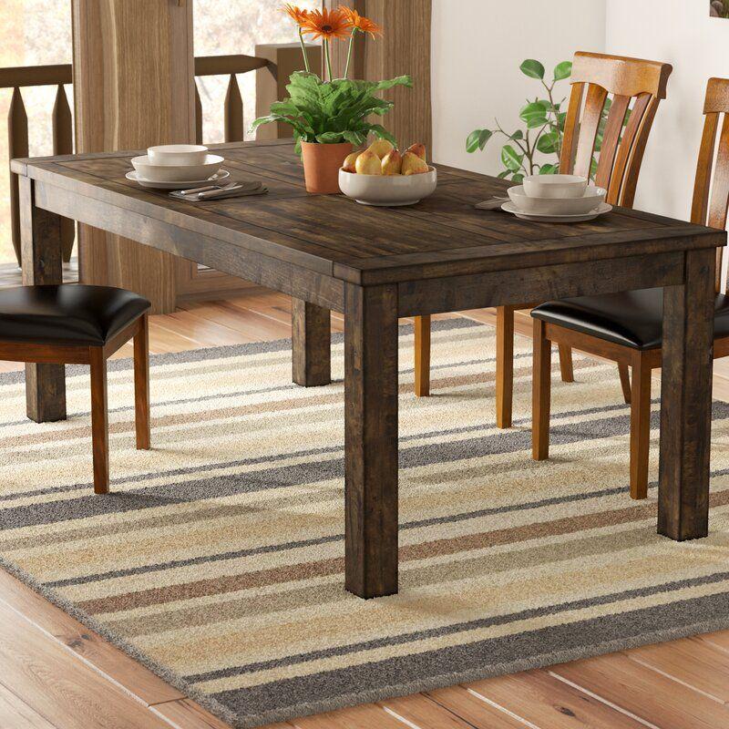 Mistana Aster Dining Table Reviews Wayfair Dining Table In Kitchen Dining Table Wood Dining Table