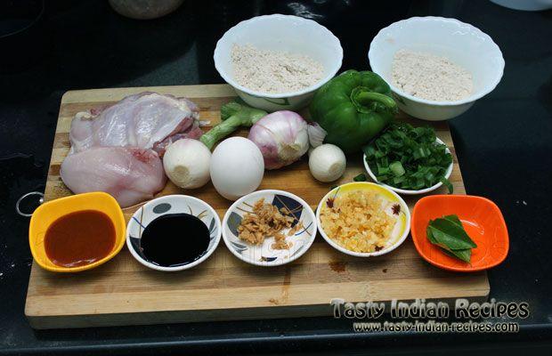 Chilli chicken recipe ingredients kabab recipe pinterest food chilli chicken recipe ingredients forumfinder Images
