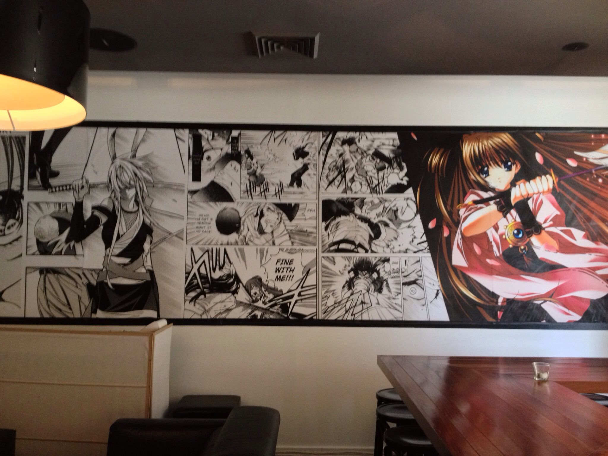 Manga Wall Feature