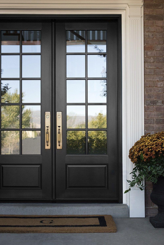 Replacing The Front Door Decorating For Fall In 2020 Exterior House Remodel Traditional Front Doors Front Door